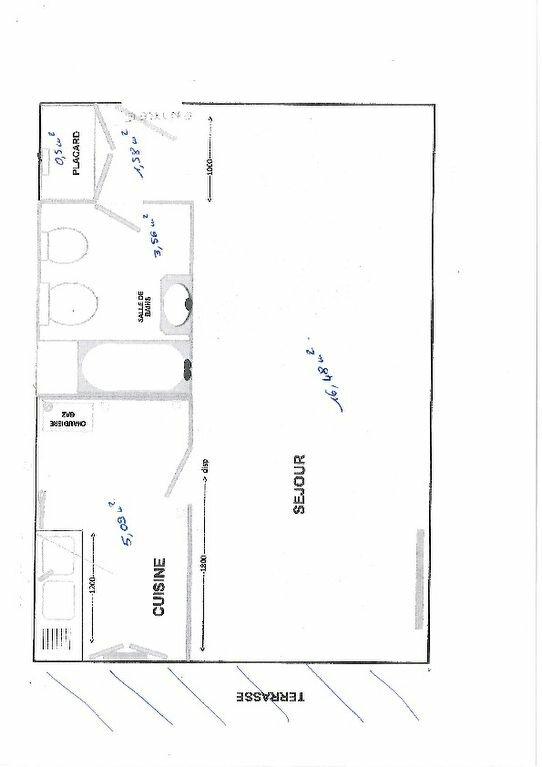 Appartement à louer 1 27m2 à Brive-la-Gaillarde plan-1