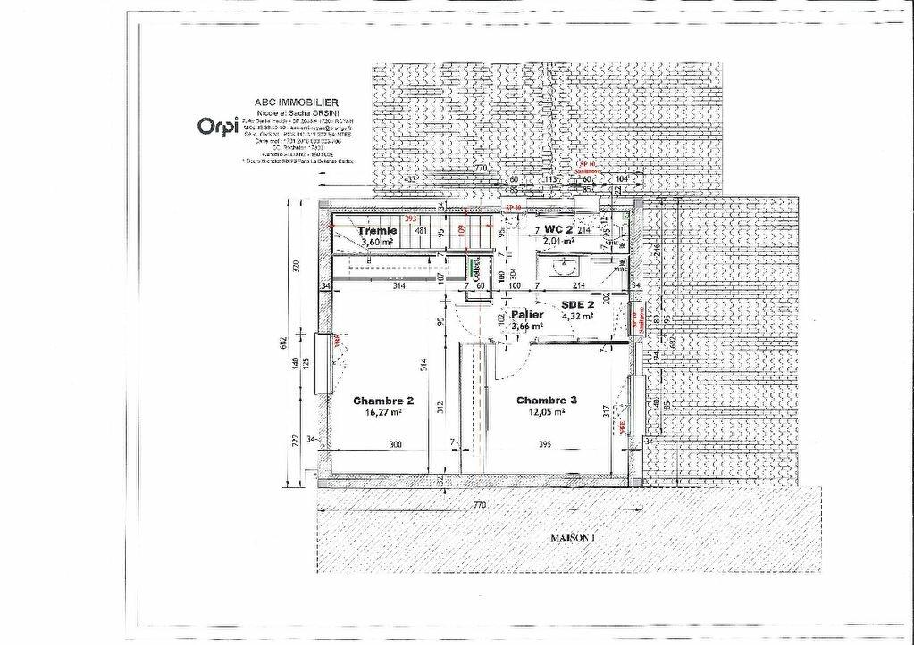 Maison à vendre 4 100.11m2 à Vaux-sur-Mer plan-2