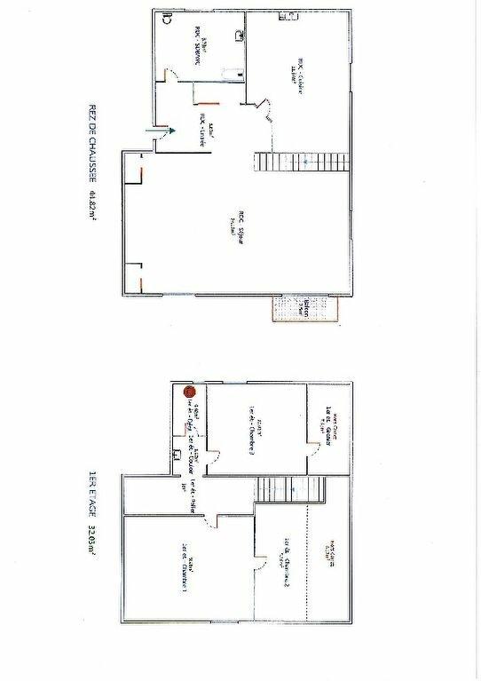 Appartement à vendre 4 76.85m2 à Hauteville-Lompnes plan-1