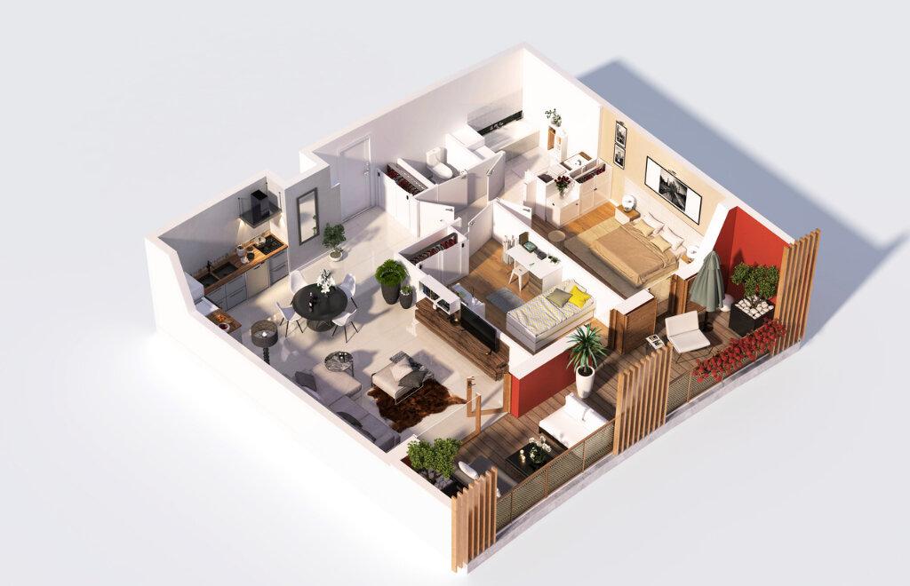 Appartement à vendre 2 51m2 à Malafretaz vignette-3