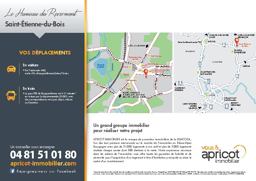 Maison à vendre 3 68m2 à Saint-Étienne-du-Bois vignette-4