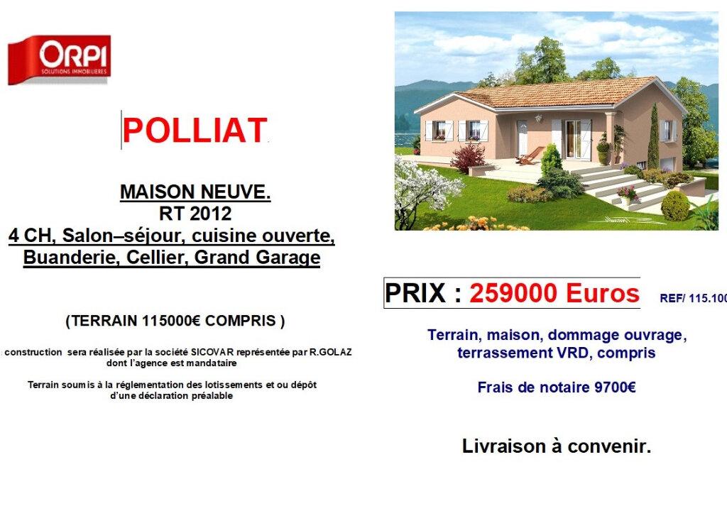 Maison à vendre 5 0m2 à Polliat vignette-1