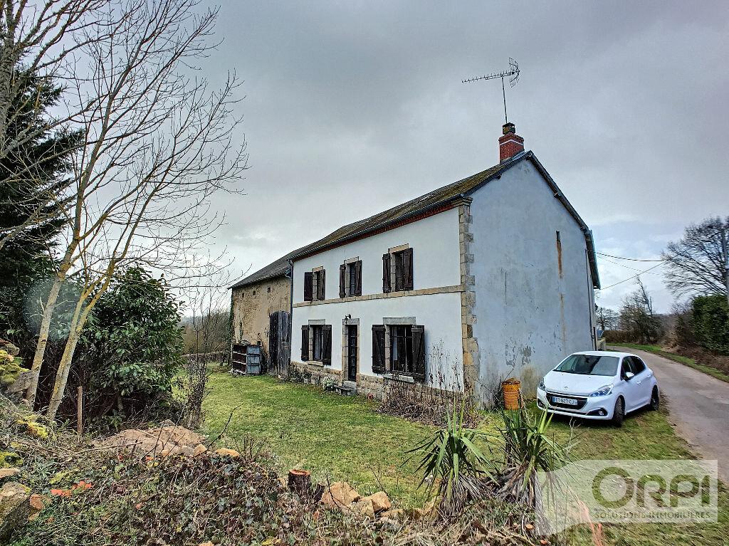 Maison à vendre 5 129.6m2 à Saint-Marcel-en-Marcillat vignette-1