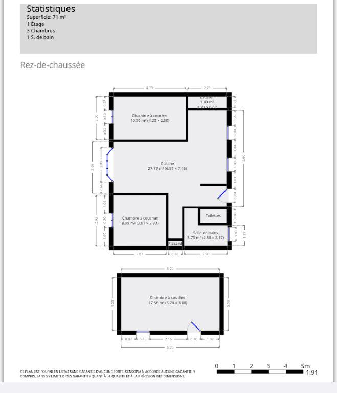 Maison à vendre 3 65m2 à Montluçon vignette-12