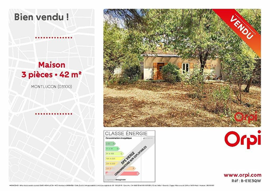 Maison à vendre 3 42m2 à Montluçon vignette-1