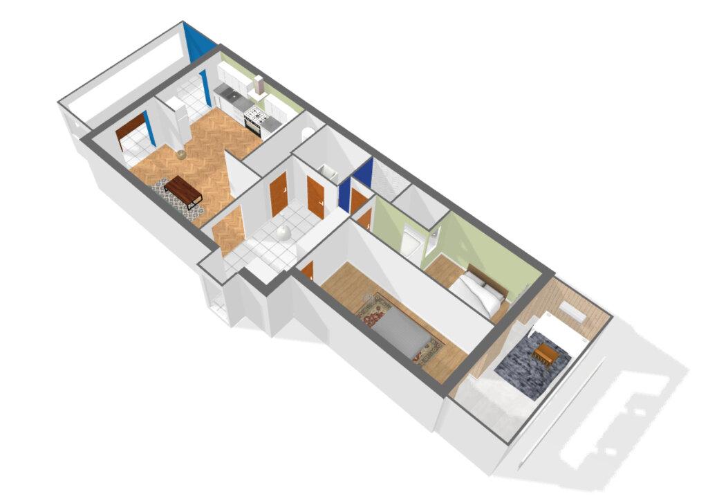 Appartement à louer 3 78.75m2 à Nice vignette-6