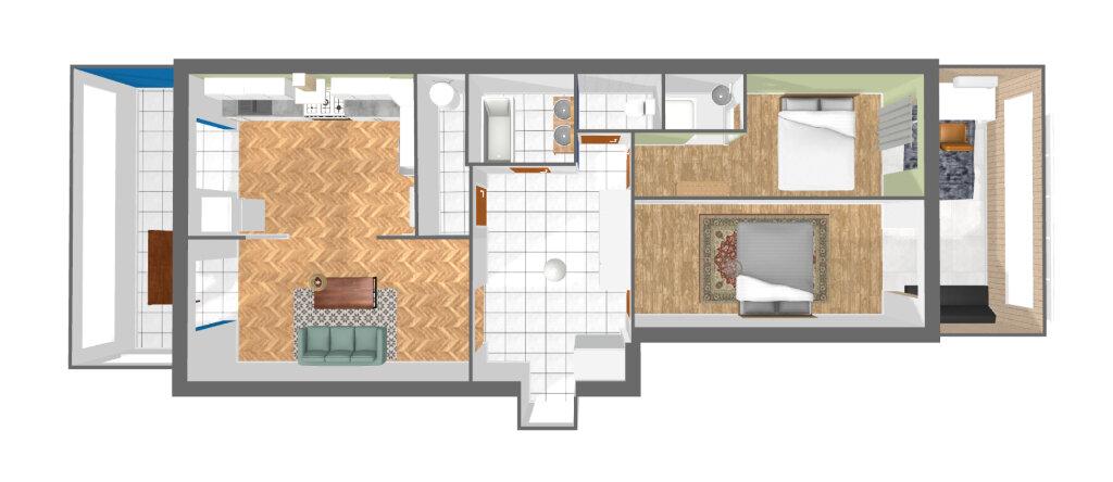 Appartement à louer 3 78.75m2 à Nice vignette-7