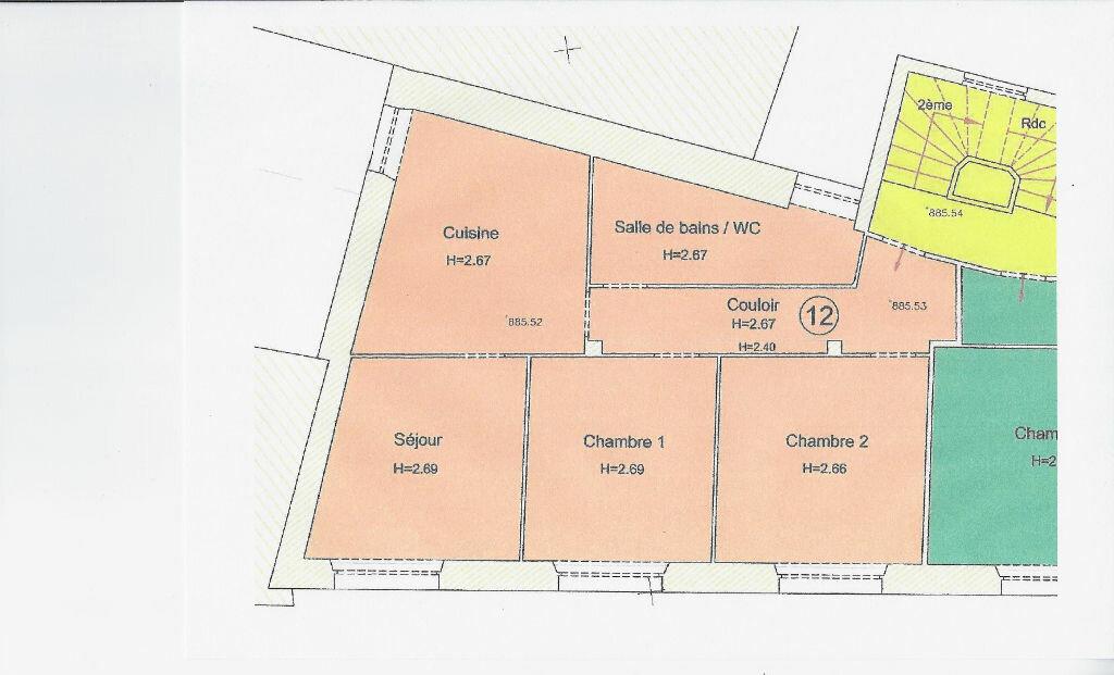 Appartement à vendre 4 82m2 à Saint-Flour vignette-1