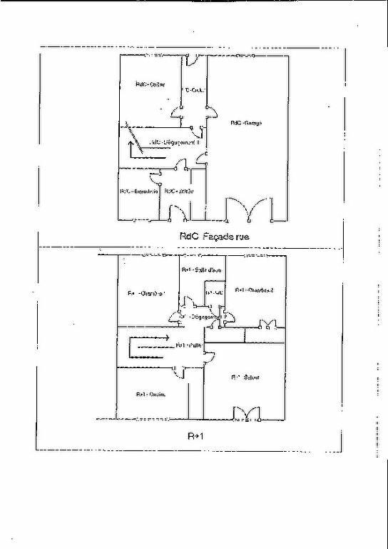 Maison à vendre 4 66m2 à Ambazac plan-1