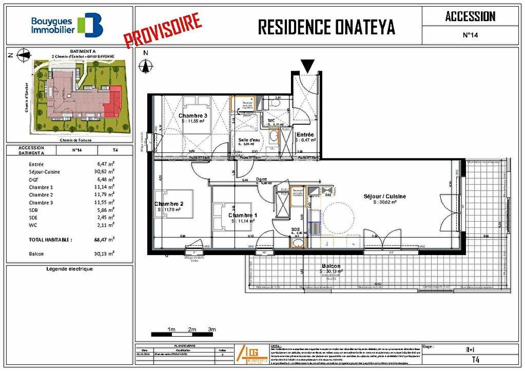 Appartement à vendre 4 88.47m2 à Bayonne vignette-5