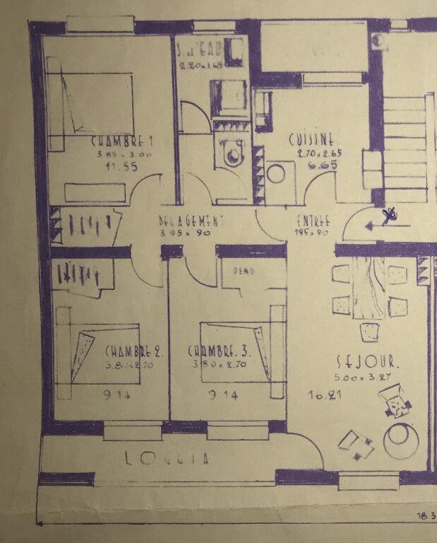 Appartement à vendre 4 75m2 à Toulouse plan-1