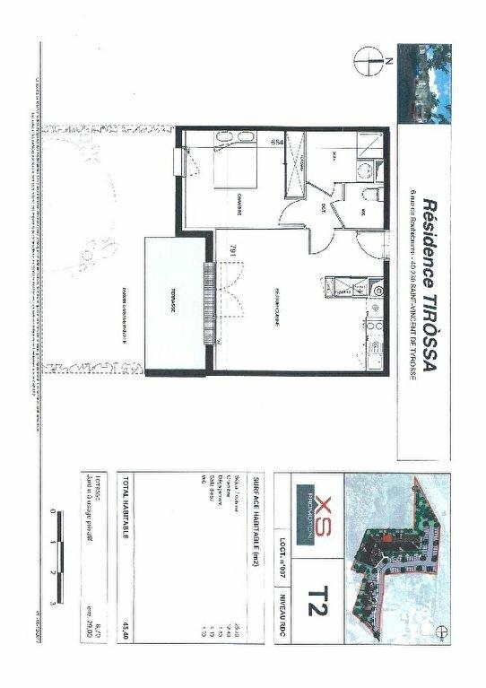Appartement à louer 2 45.4m2 à Saint-Vincent-de-Tyrosse vignette-2