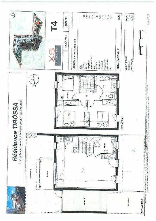 Maison à louer 4 85.4m2 à Saint-Vincent-de-Tyrosse vignette-2