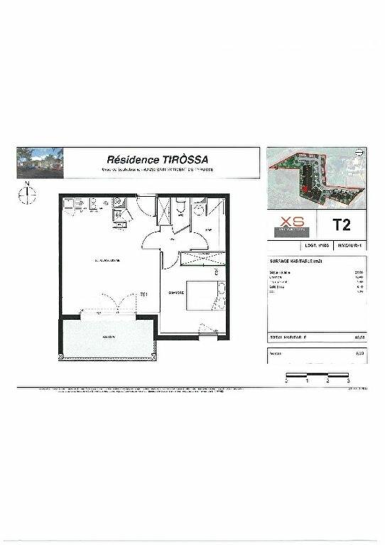 Appartement à louer 2 45.5m2 à Saint-Vincent-de-Tyrosse vignette-2