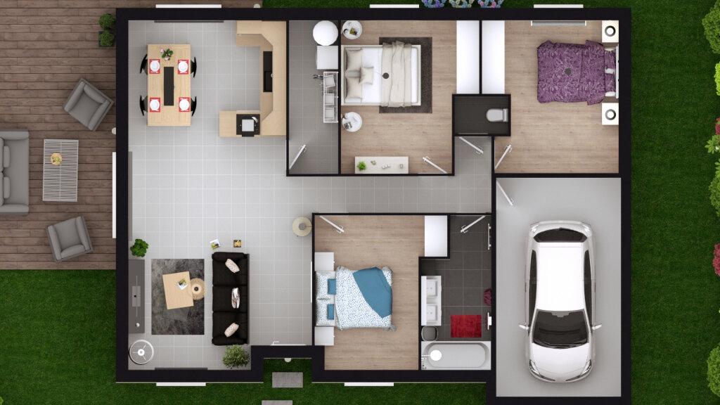 Maison à vendre 4 84.11m2 à Monein vignette-7