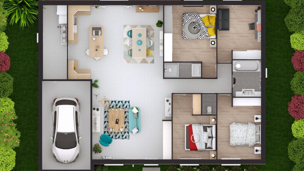 Maison à vendre 5 115.76m2 à Monein vignette-8