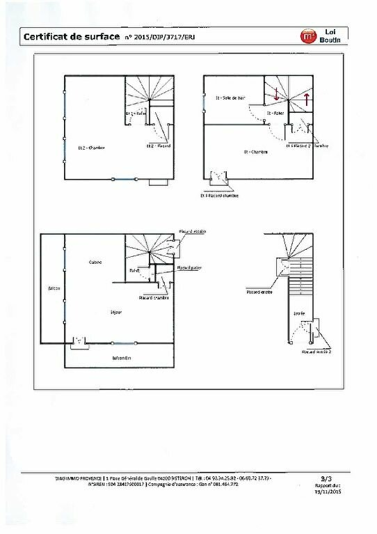 Appartement à louer 3 60m2 à Oraison plan-1