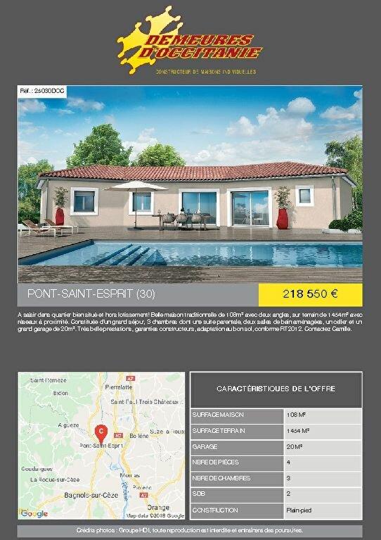Terrain à vendre 0 1454m2 à Pont-Saint-Esprit vignette-6
