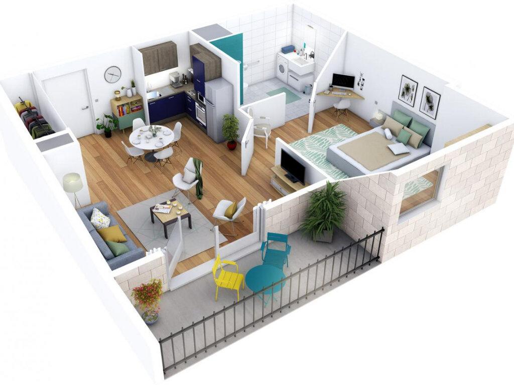 Appartement à vendre 2 42.28m2 à La Rochelle vignette-3