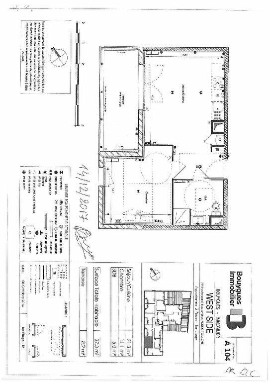 Appartement à louer 2 37.37m2 à Toulon vignette-3