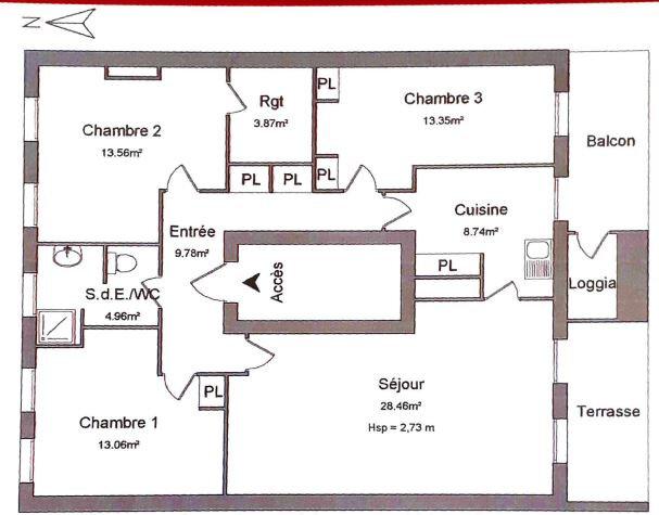 Appartement à louer 4 95.78m2 à Toulon vignette-6