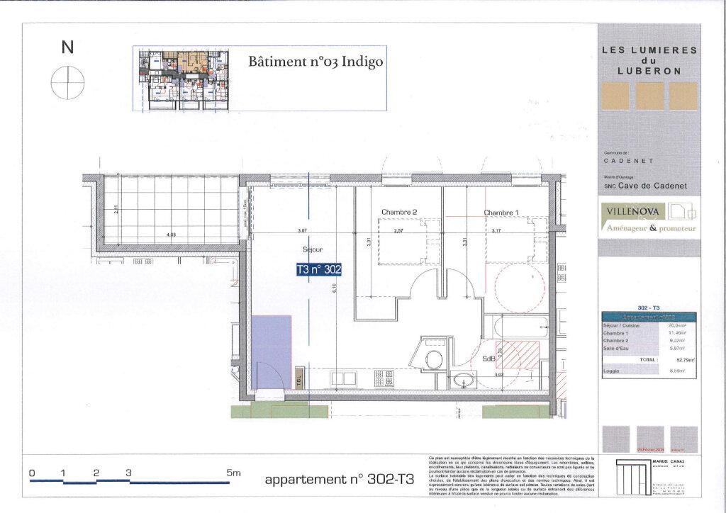 Appartement à vendre 3 52.79m2 à Cadenet vignette-3