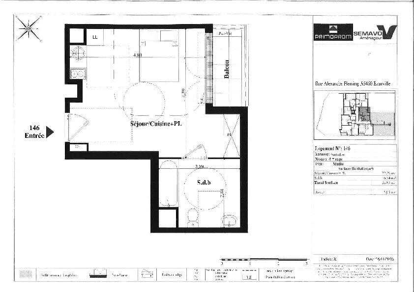 Appartement à vendre 1 28.83m2 à Ézanville vignette-3