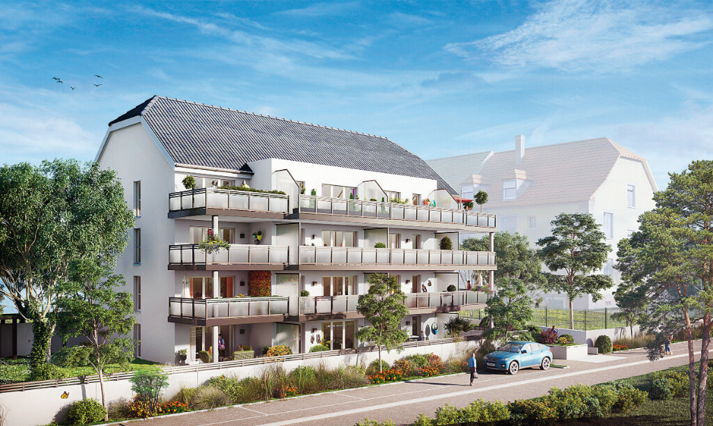 Appartement à vendre 2 45.55m2 à Brunstatt vignette-1