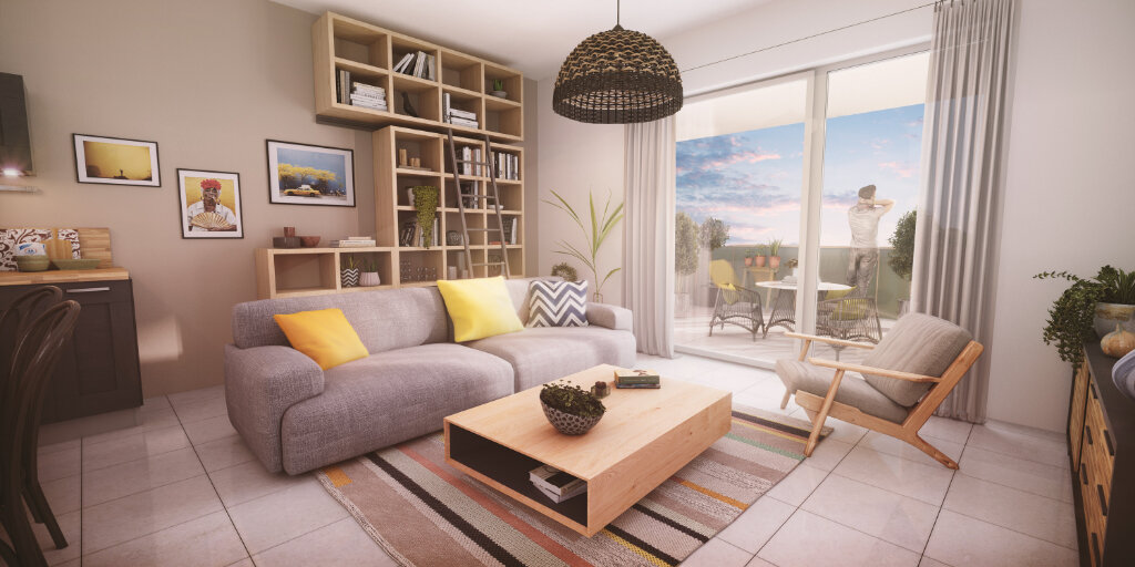 Appartement à vendre 2 45.55m2 à Brunstatt vignette-3