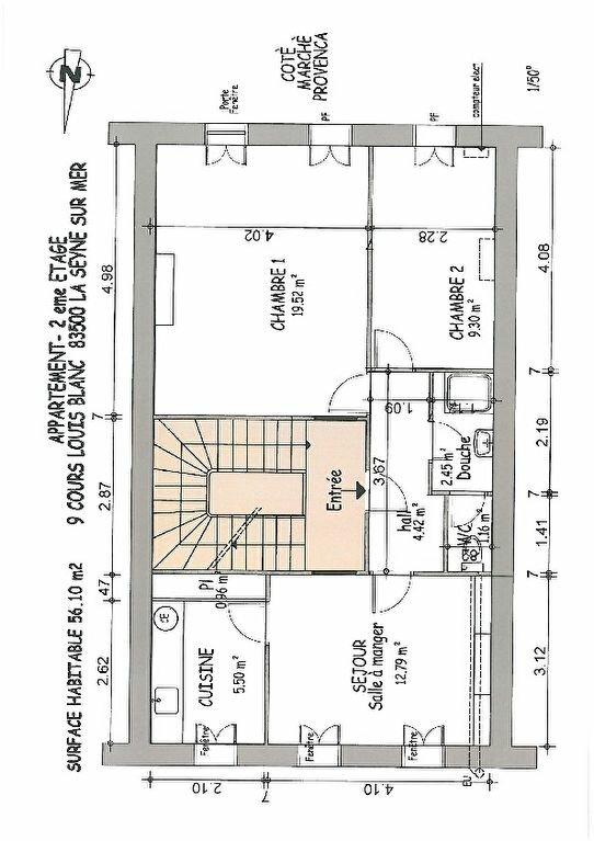 Appartement à vendre 3 56m2 à La Seyne-sur-Mer vignette-3