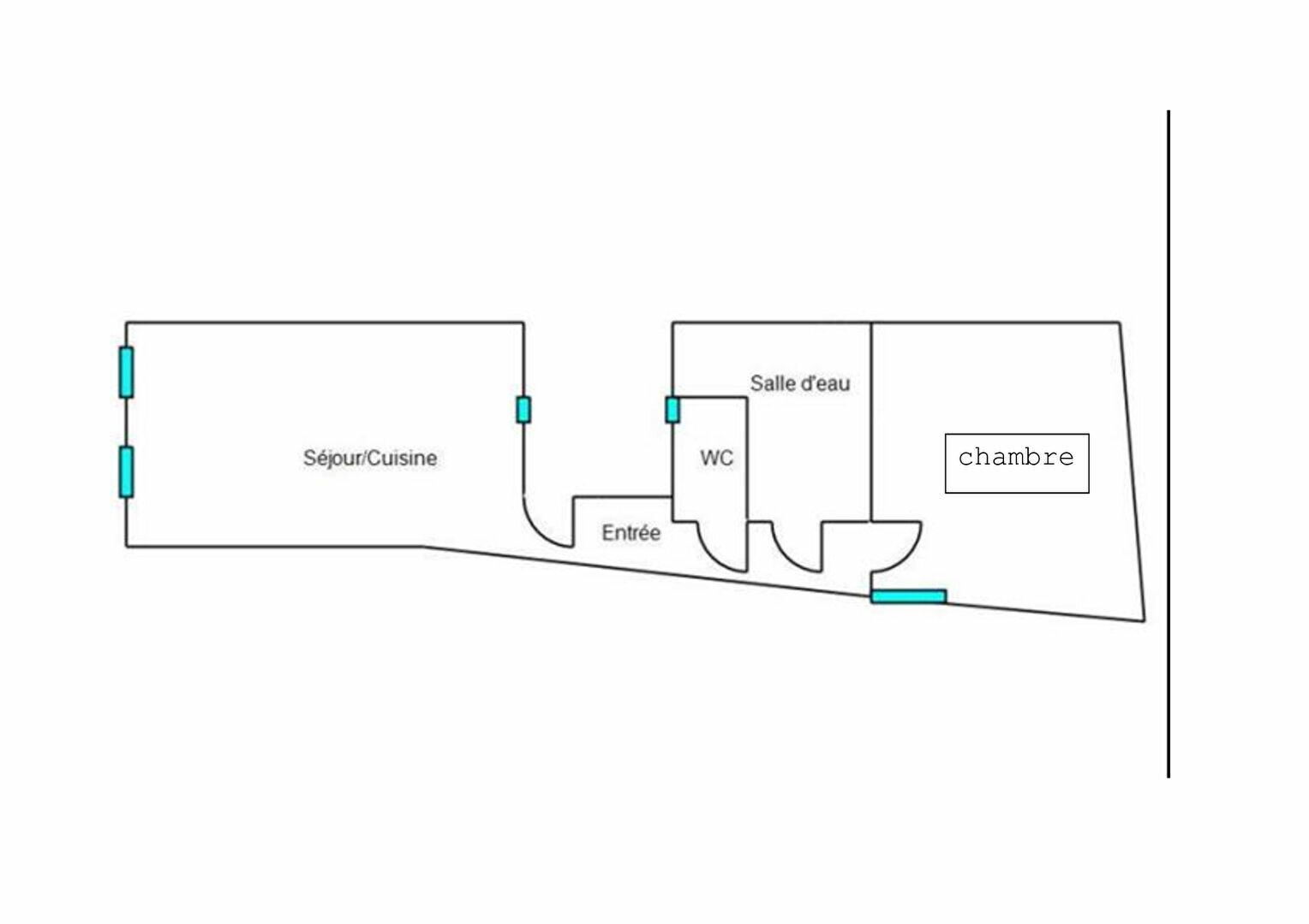 Appartement à louer 2 40m2 à Prades vignette-2