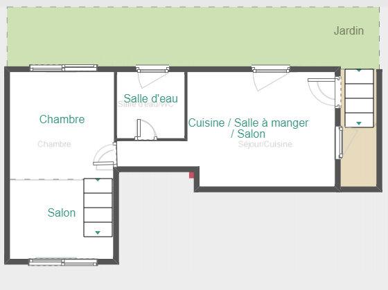 Maison à louer 2 40m2 à Ria-Sirach vignette-10