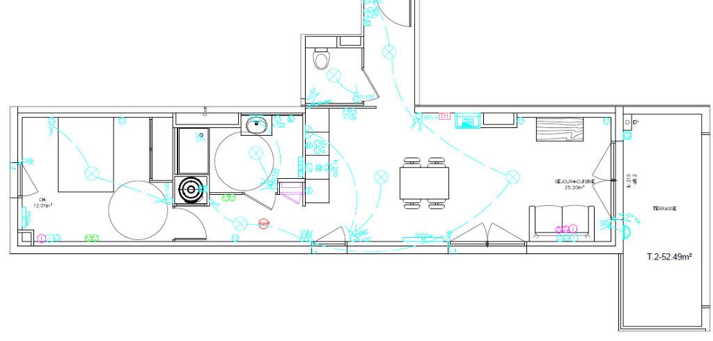 Appartement à louer 2 52.54m2 à Perpignan vignette-2