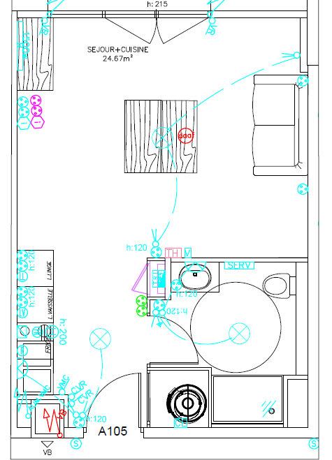 Appartement à louer 1 30.75m2 à Perpignan vignette-2