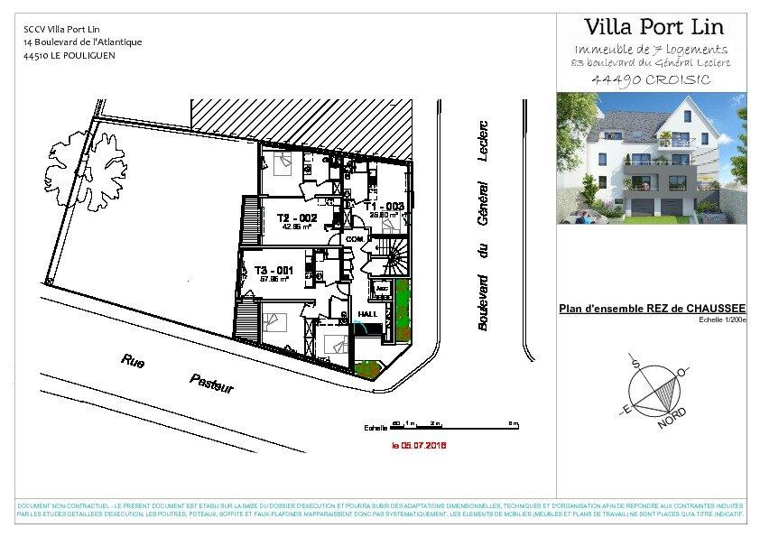Appartement à vendre 3 57.95m2 à Le Croisic plan-2