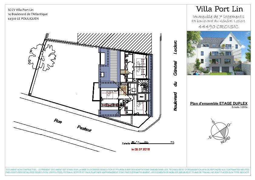 Appartement à vendre 4 83.2m2 à Le Croisic plan-4