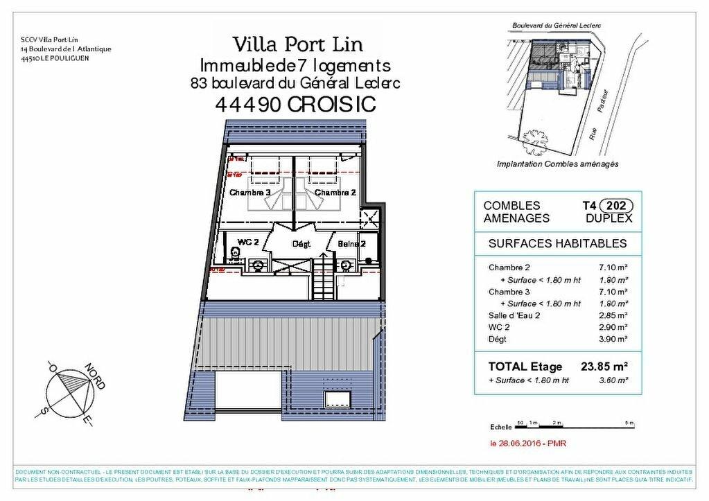 Appartement à vendre 4 83.2m2 à Le Croisic vignette-7