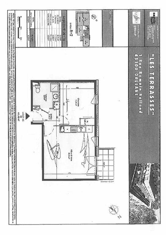 Appartement à louer 2 44.67m2 à Orléans vignette-5