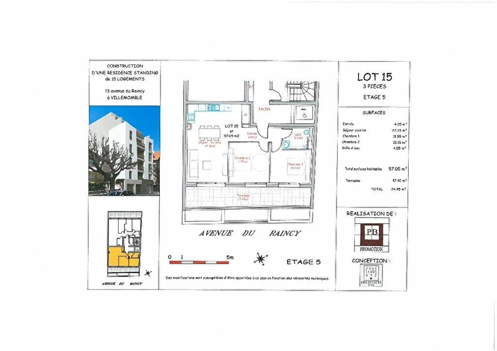 Appartement à vendre 3 57m2 à Villemomble vignette-3