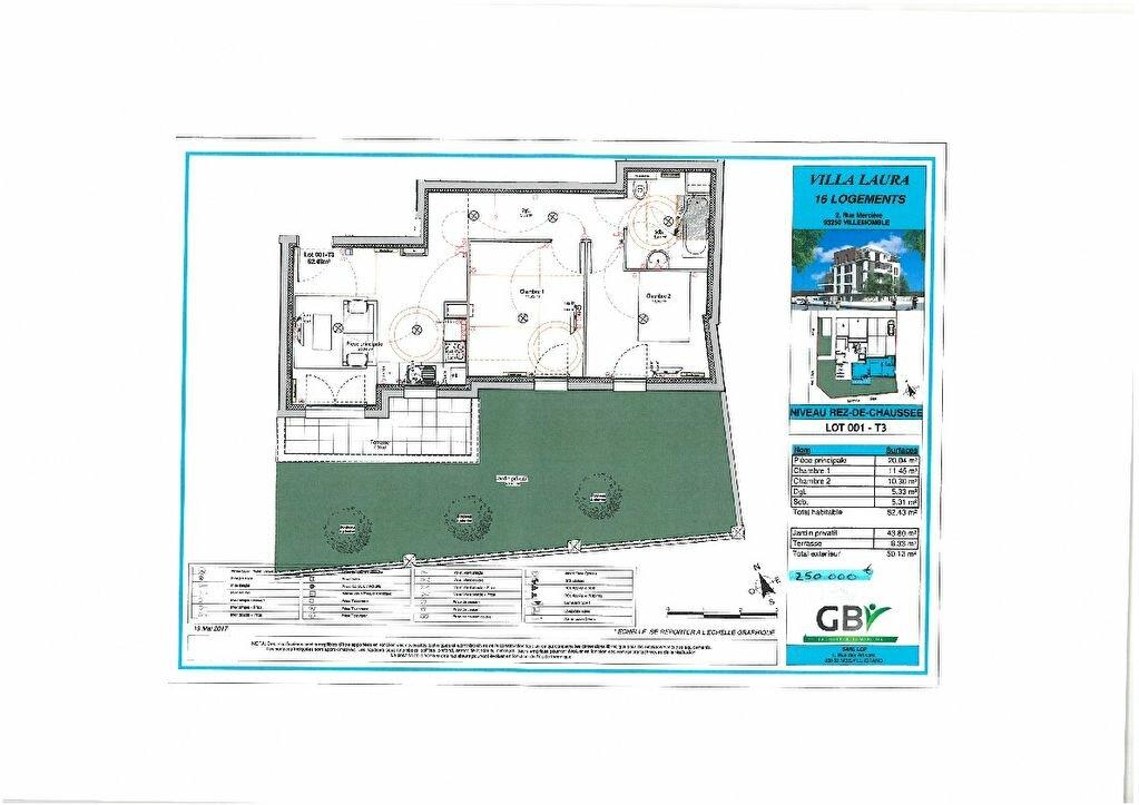 Appartement à vendre 3 52m2 à Villemomble vignette-2