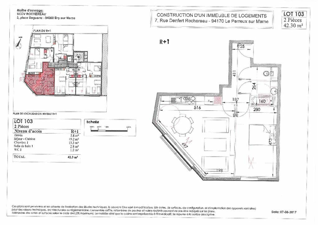 Appartement à vendre 2 42m2 à Le Perreux-sur-Marne vignette-2