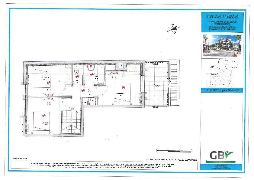 Appartement à vendre 5 90.73m2 à Neuilly-Plaisance vignette-2