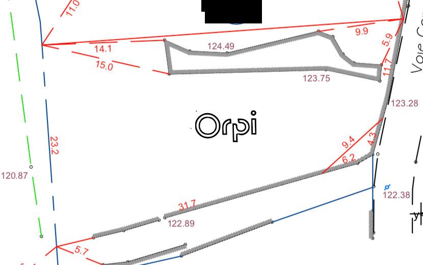 Terrain à vendre 0 750m2 à Ruoms vignette-3