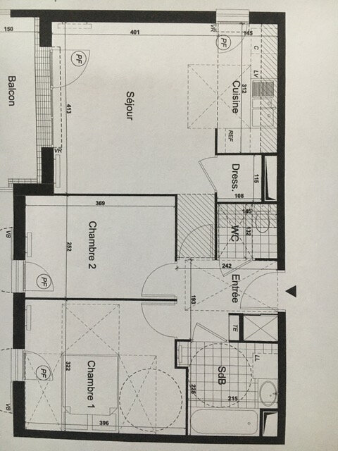 Appartement à louer 3 56.35m2 à Brie-Comte-Robert vignette-8