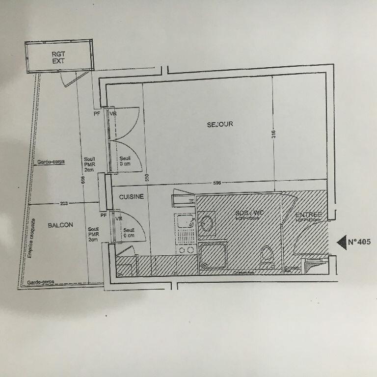 Appartement à louer 1 31.8m2 à Seyssinet-Pariset vignette-5