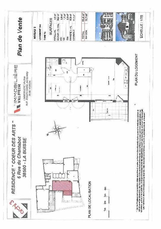 Appartement à louer 3 65m2 à La Buisse vignette-3