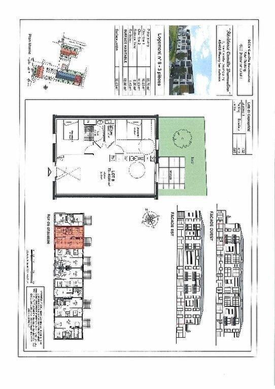 Appartement à louer 3 62.6m2 à Fleury-les-Aubrais vignette-10