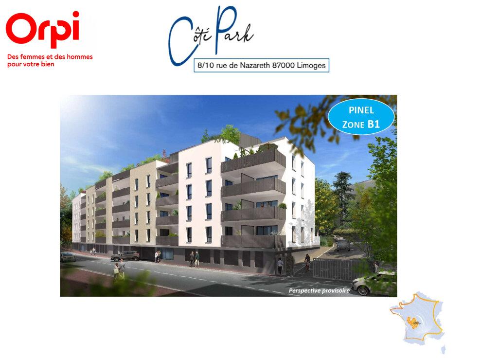 Appartement à vendre 2 44.01m2 à Limoges vignette-2