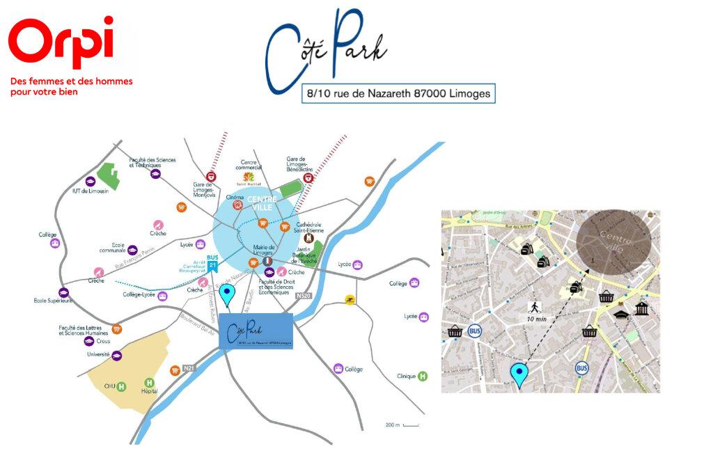 Appartement à vendre 2 44.01m2 à Limoges vignette-3