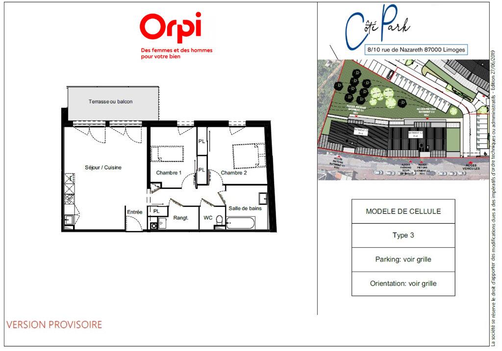 Appartement à vendre 3 66.58m2 à Limoges vignette-5